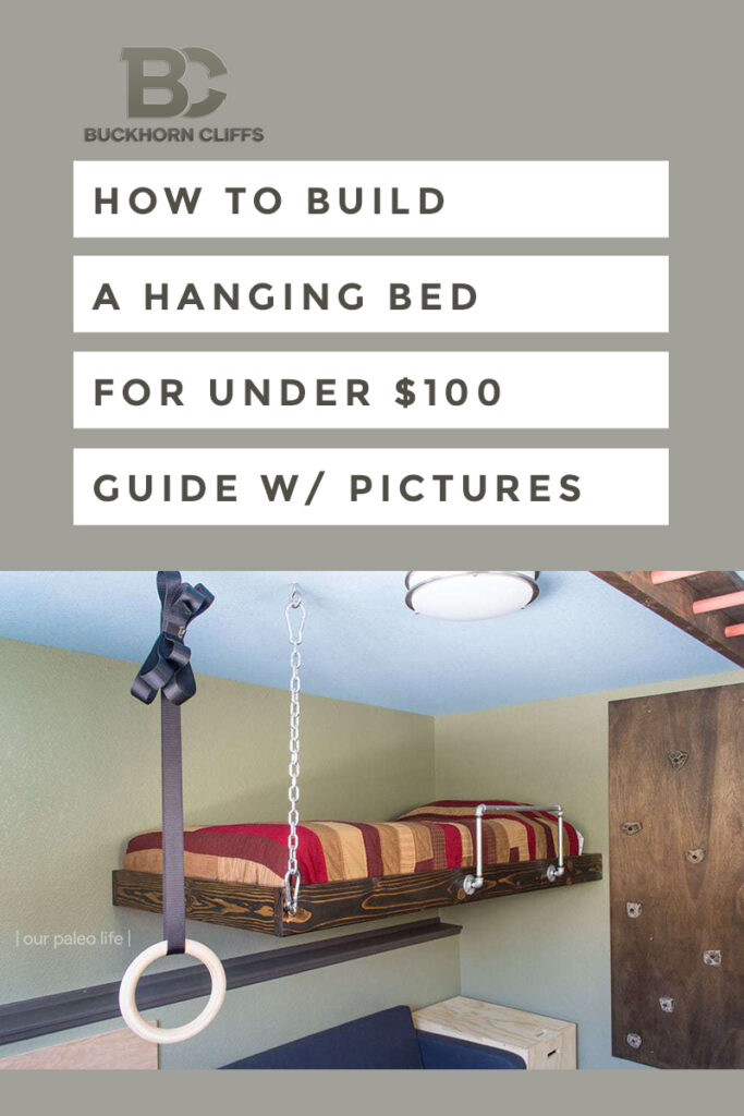 How to build a hanging bed for under $100