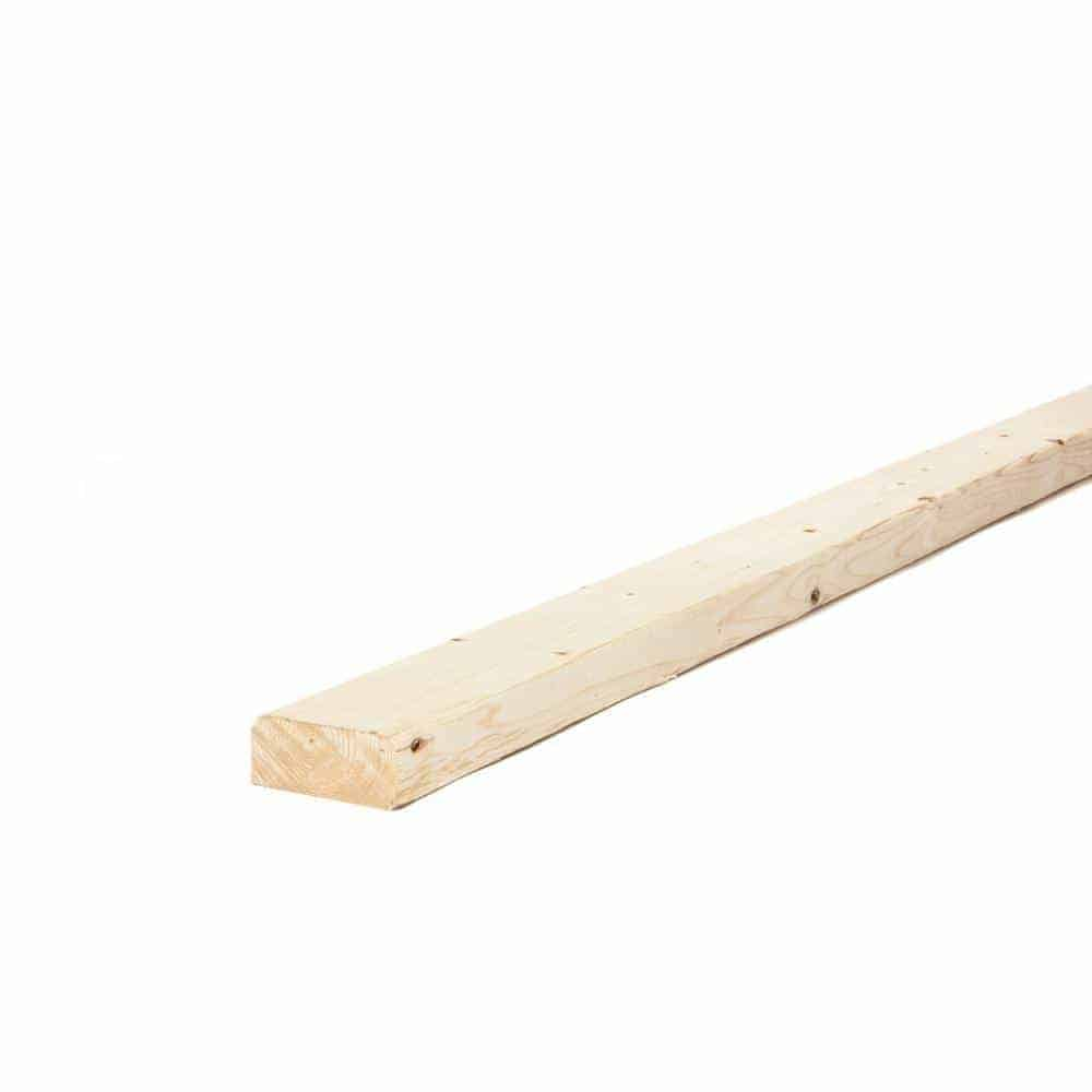 2x4in x 104-5/8in Prime Kiln Dried Whitewood Stud