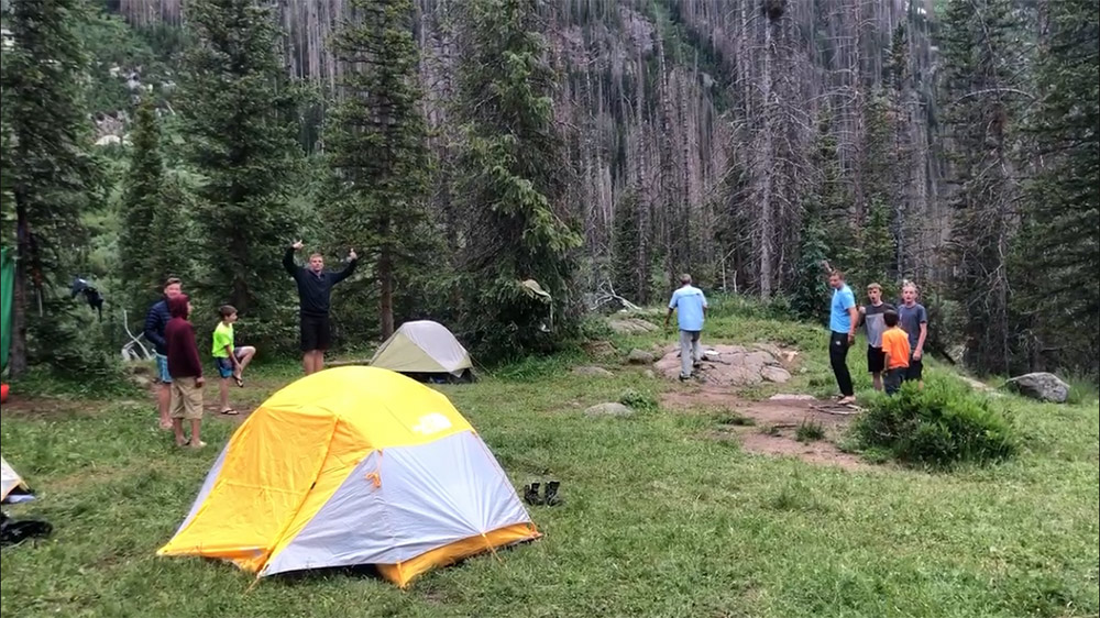 Camping in Chicago Basin