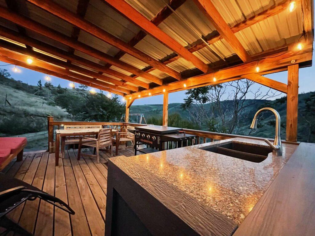 Covered Kitchen Pavilion