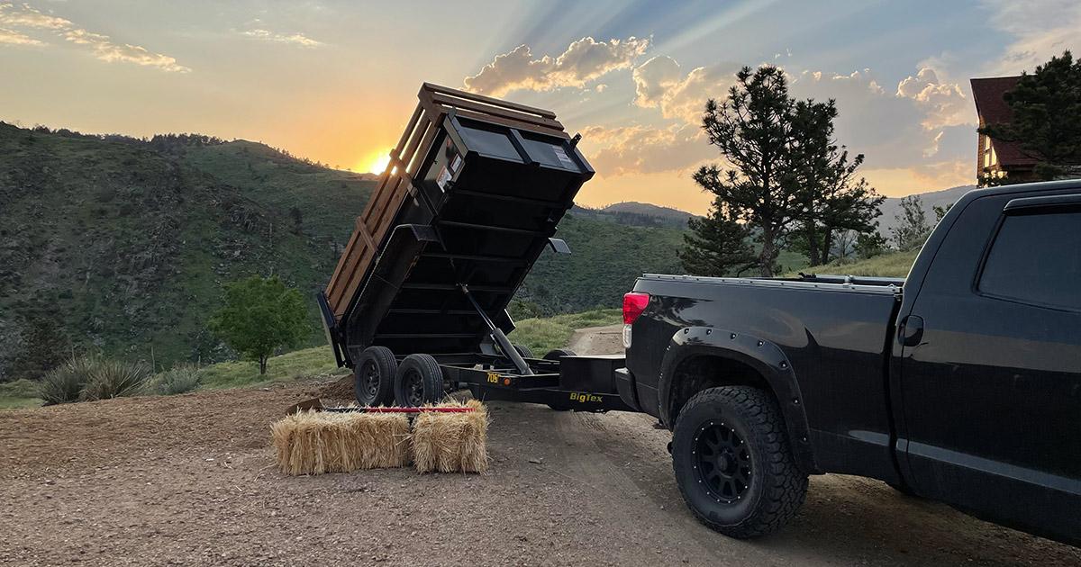 Dump Trailer Rental Fort Collins Loveland