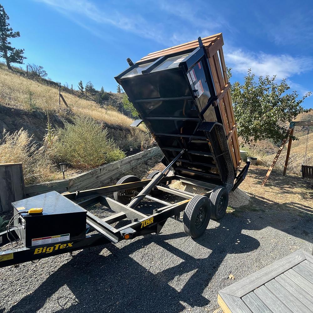 Dump Trailer Rental Northern Colorado