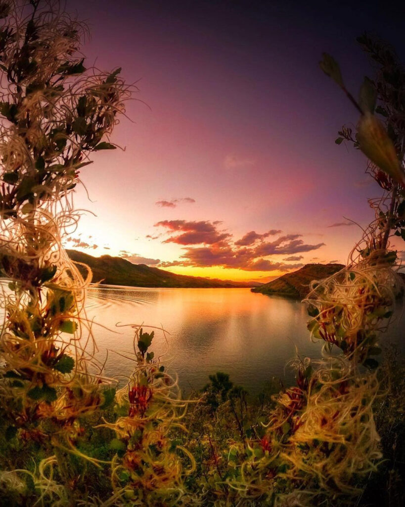 End of Summer at Horsetooth Reservoir