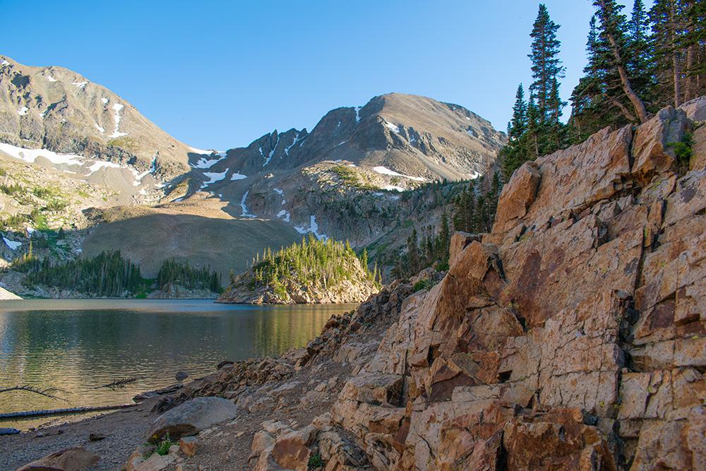 Exploring Lake Agnes