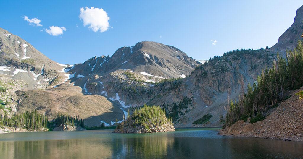 Lake Agnes in Colorado