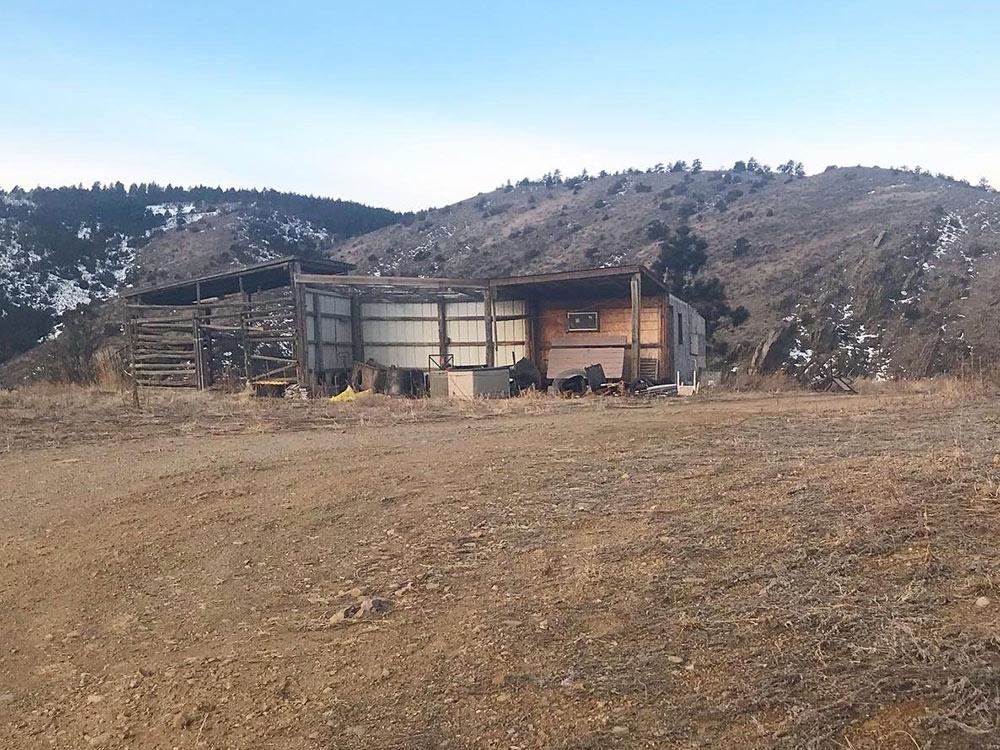 Pre Barn Looking West