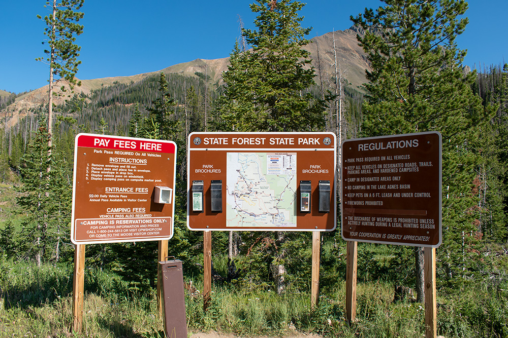 State Forest State Park SIgns