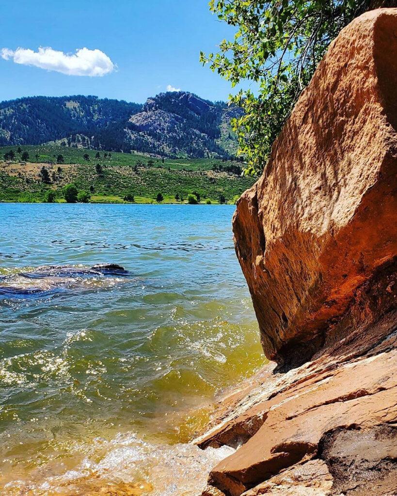Summer Days at Horsetooth Reservoir