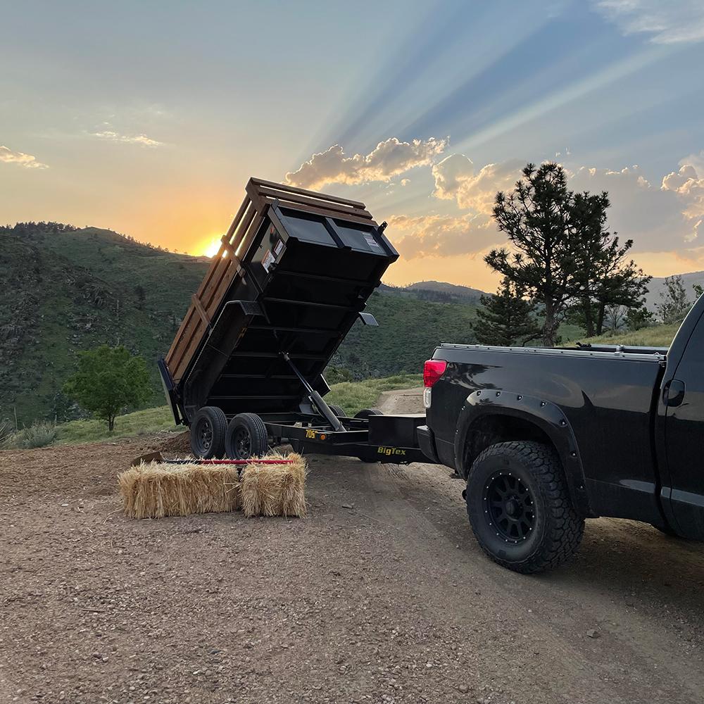 Sunset Dump Trailer