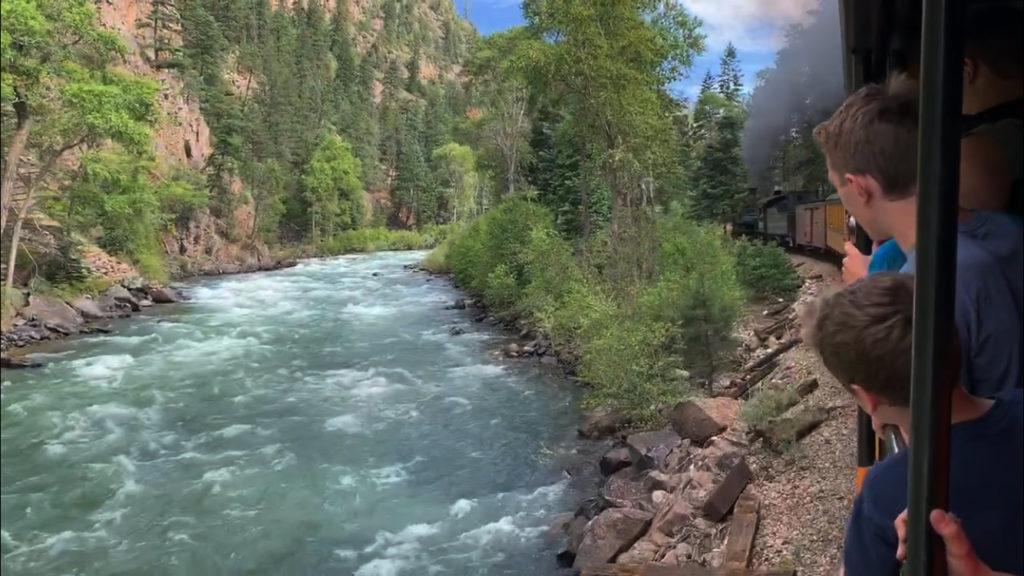 Taking the Durango Train to Hiking